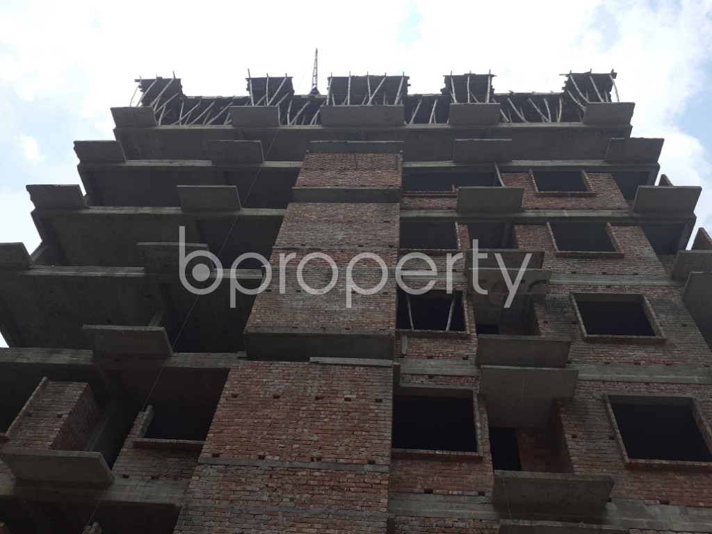 Front view - 3 Bed Apartment for Sale in Mohammadpur, Dhaka - 1919583