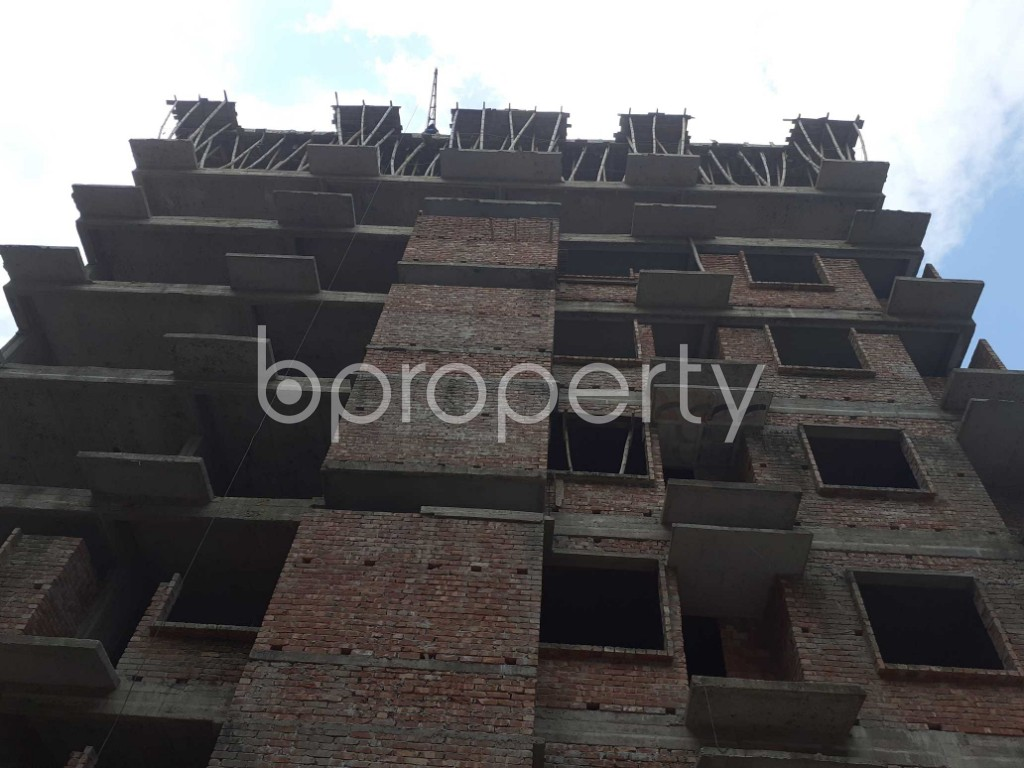 Front view - 3 Bed Apartment for Sale in Mohammadpur, Dhaka - 1919584