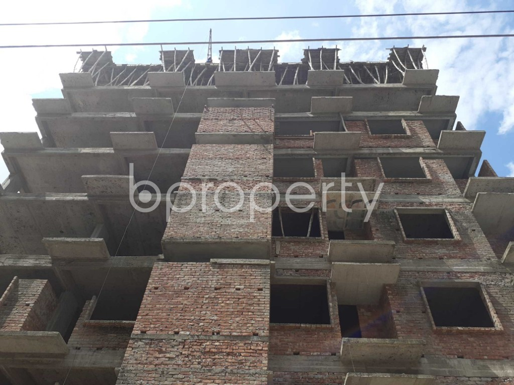 Front view - 3 Bed Apartment for Sale in Mohammadpur, Dhaka - 1919585