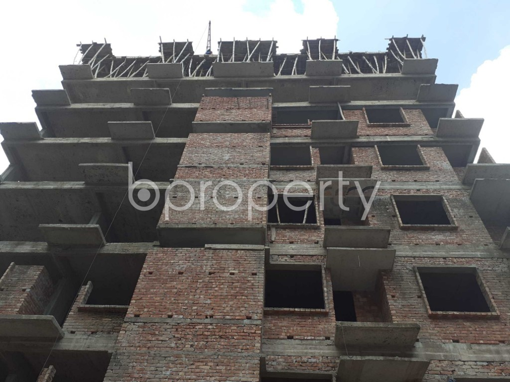 Front view - 3 Bed Apartment for Sale in Mohammadpur, Dhaka - 1919587