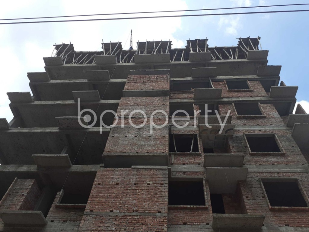 Front view - 3 Bed Apartment for Sale in Mohammadpur, Dhaka - 1919589