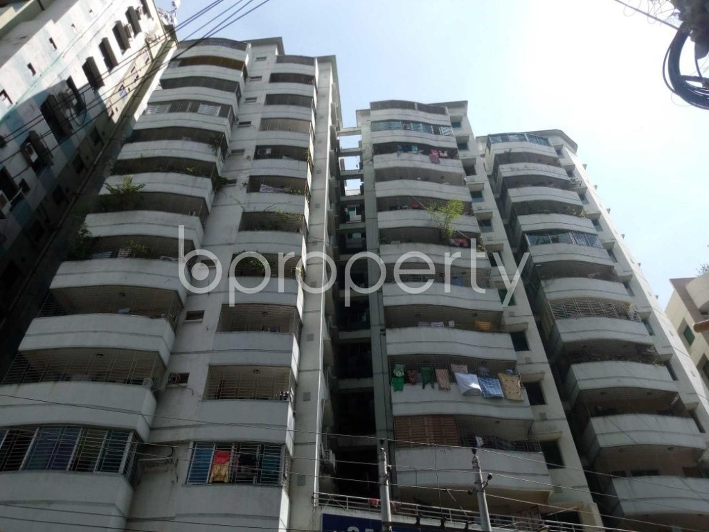 Front view - 3 Bed Apartment for Sale in Hatirpool, Dhaka - 1919607