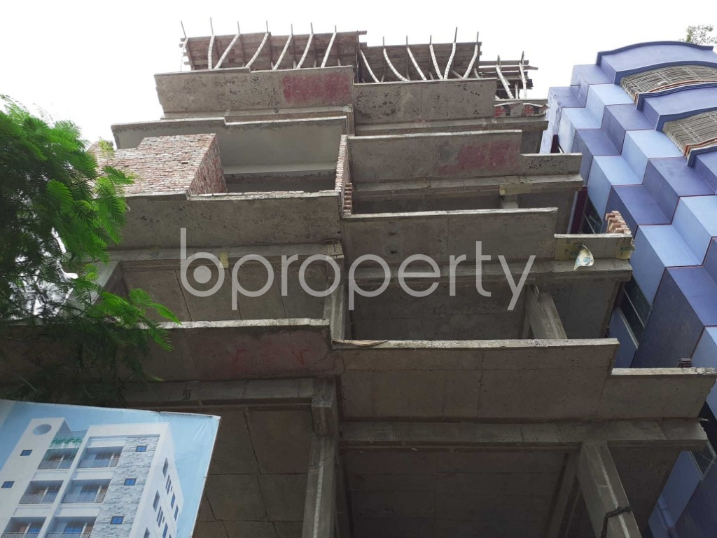 Front view - 2 Bed Apartment for Sale in Mohammadpur, Dhaka - 1919574