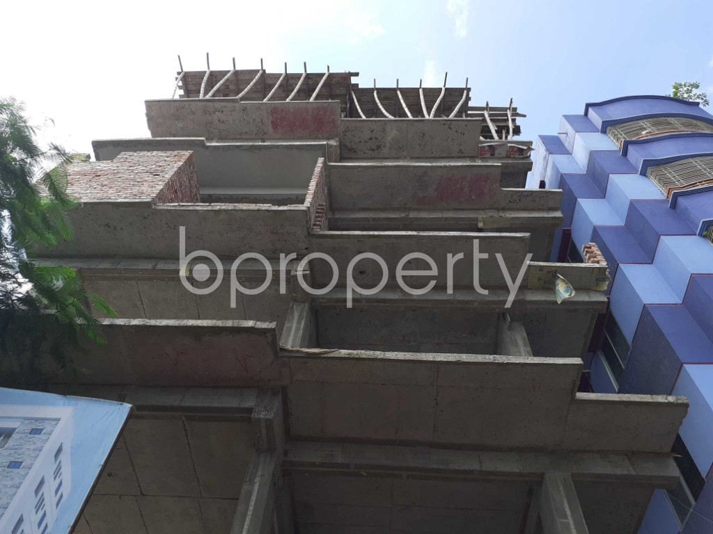 Front view - 2 Bed Apartment for Sale in Mohammadpur, Dhaka - 1919575