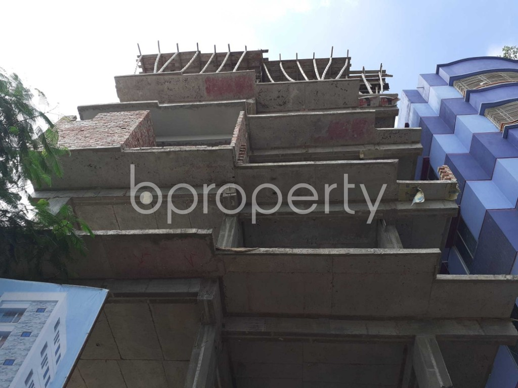Front view - 2 Bed Apartment for Sale in Mohammadpur, Dhaka - 1919577