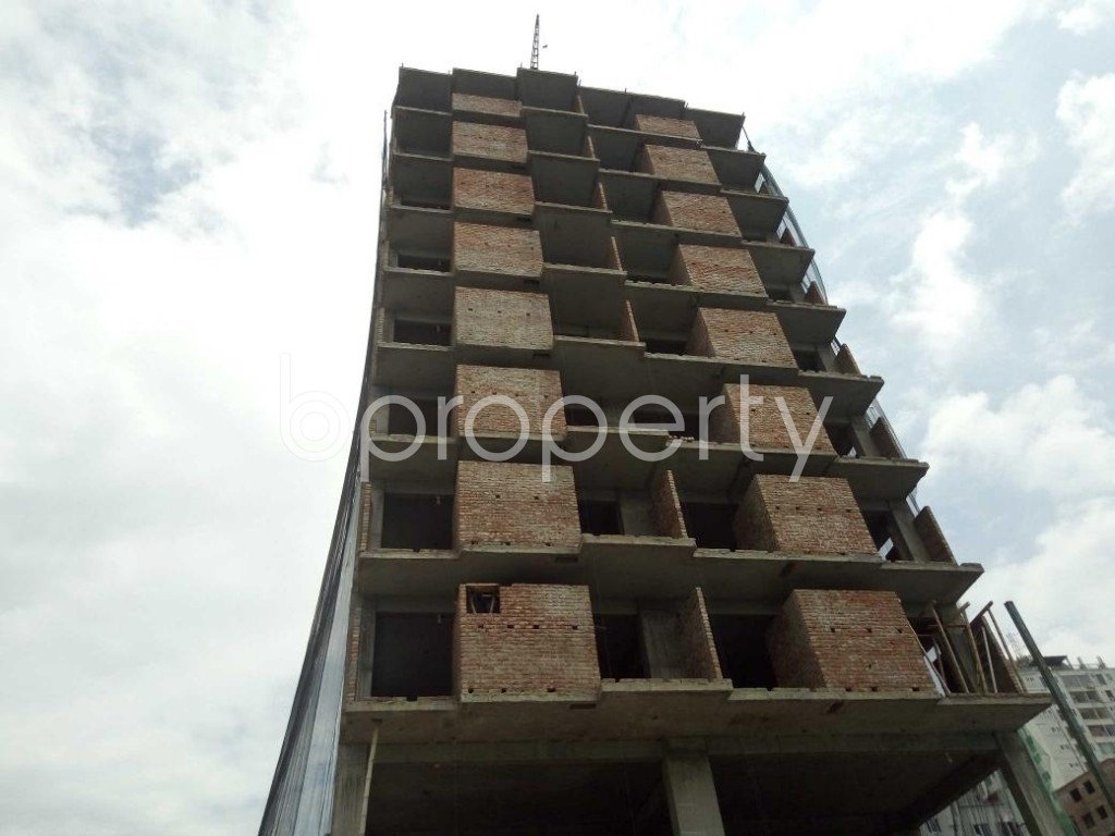 Front view - 3 Bed Apartment for Sale in Badda, Dhaka - 1919511