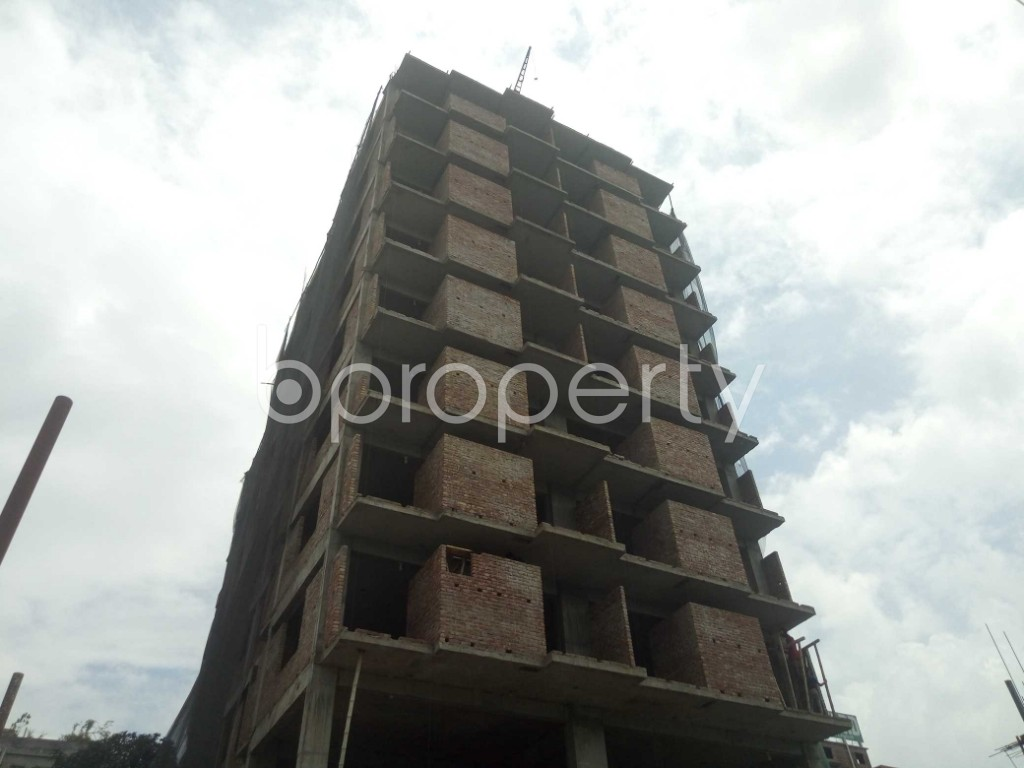 Outside view - 3 Bed Apartment for Sale in Badda, Dhaka - 1919512