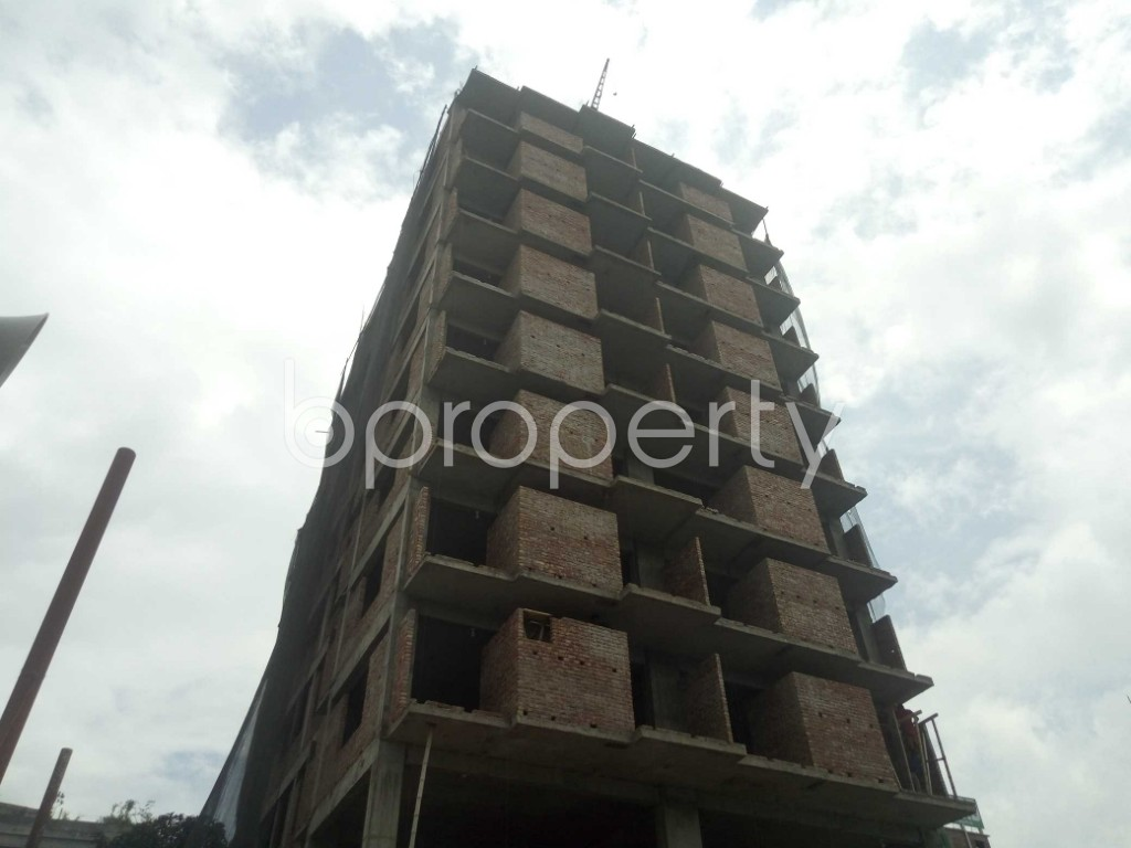 Outside view - 3 Bed Apartment for Sale in Badda, Dhaka - 1919513