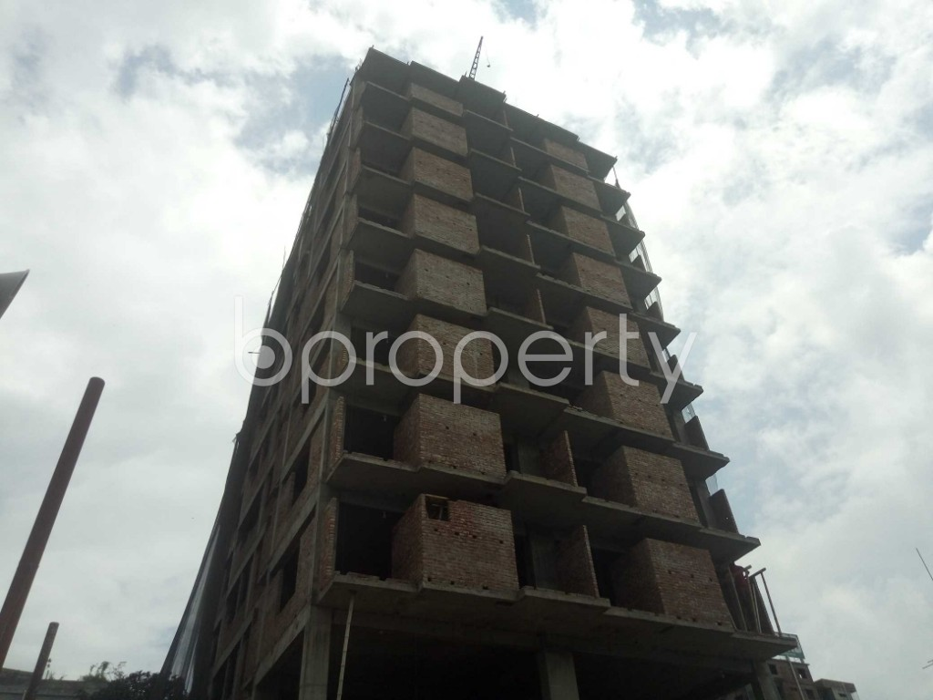 Outside view - 3 Bed Apartment for Sale in Badda, Dhaka - 1919514