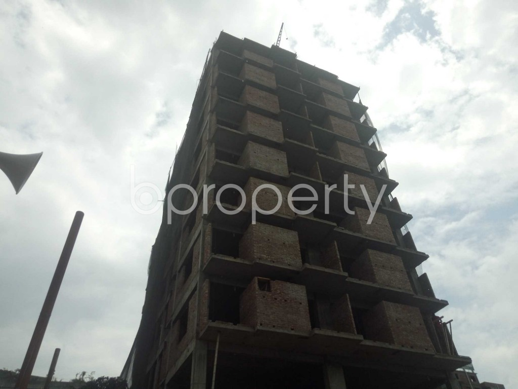 Outside view - 3 Bed Apartment for Sale in Badda, Dhaka - 1919517