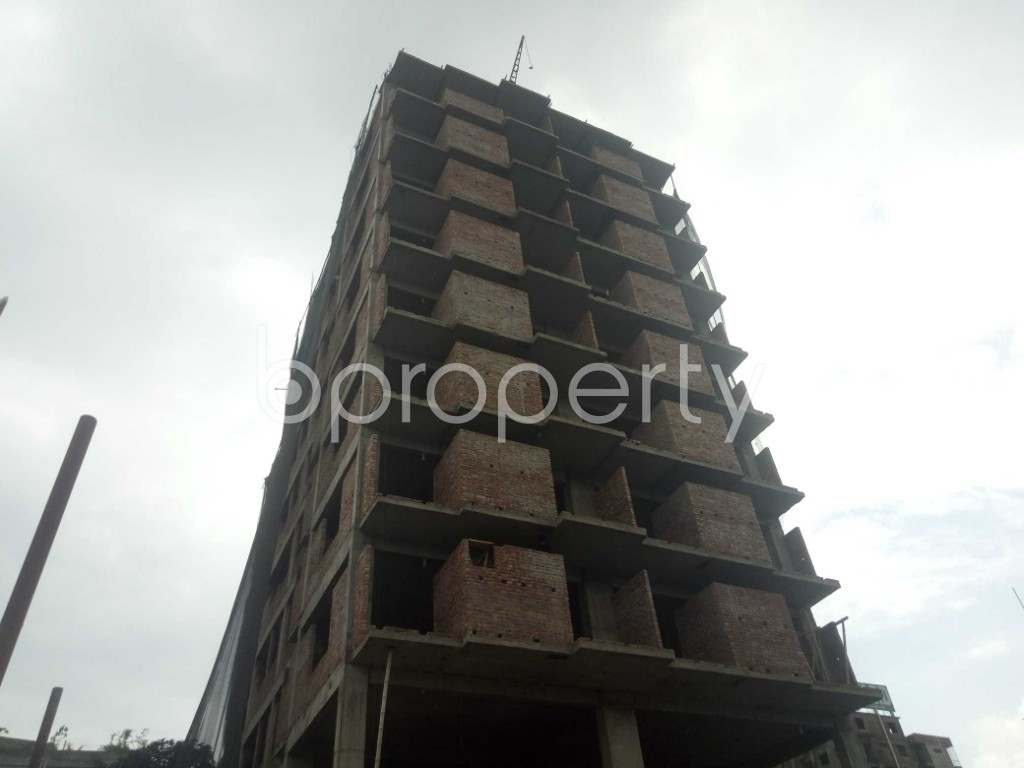 Outside view - 3 Bed Apartment for Sale in Badda, Dhaka - 1919518