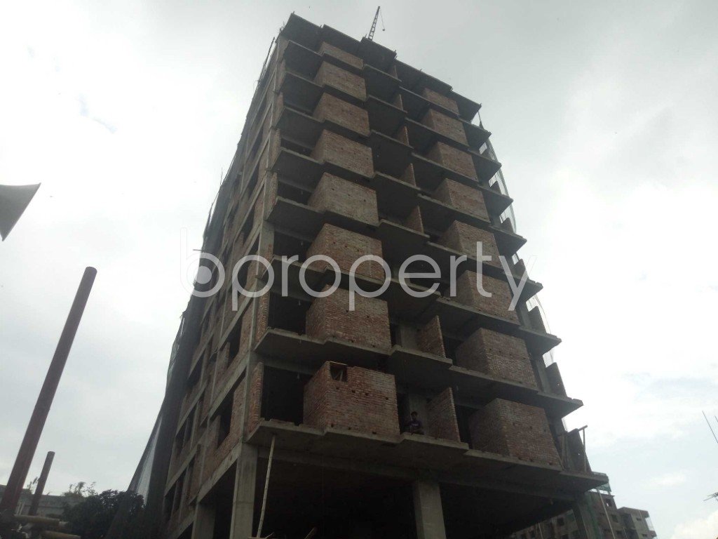 Outside view - 3 Bed Apartment for Sale in Badda, Dhaka - 1919521