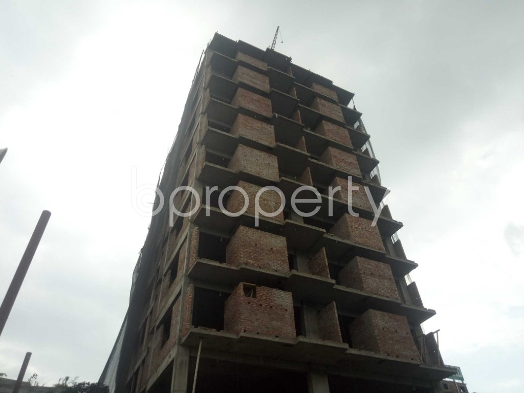 Outside view - 3 Bed Apartment for Sale in Badda, Dhaka - 1919522
