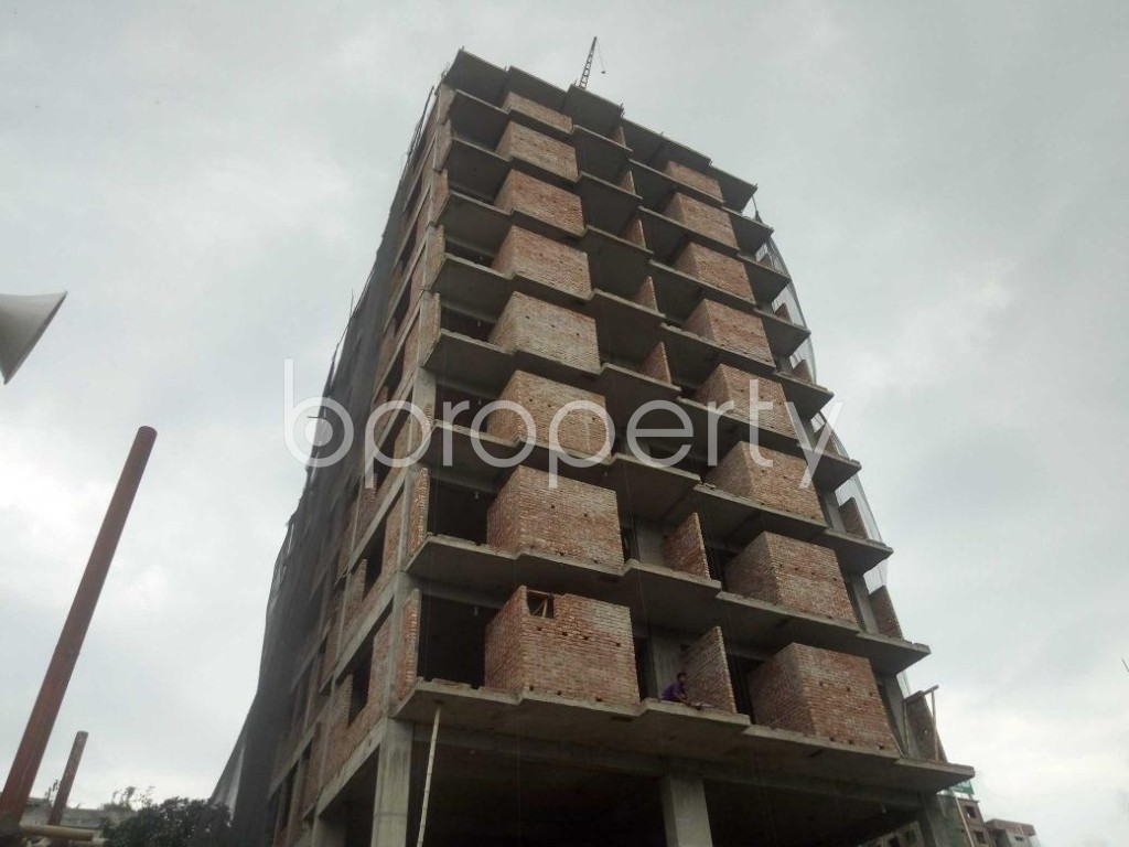 Front view - 3 Bed Apartment for Sale in Badda, Dhaka - 1919534