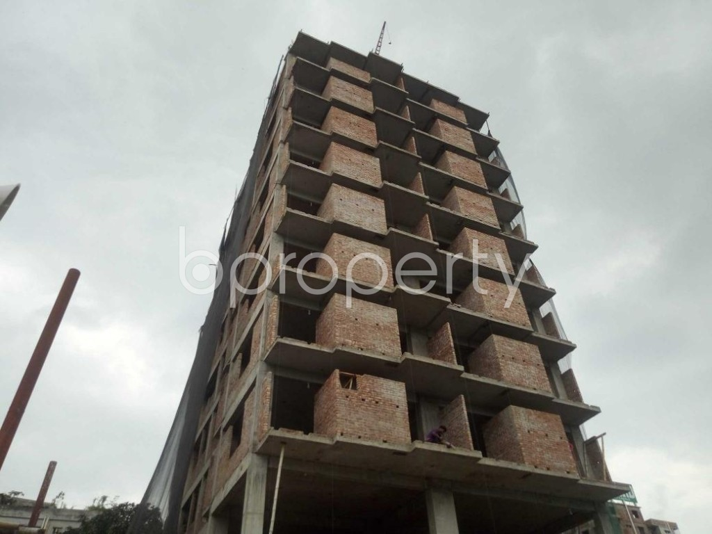 Front view - 3 Bed Apartment for Sale in Badda, Dhaka - 1919535