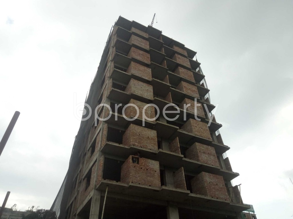 Outside view - 3 Bed Apartment for Sale in Badda, Dhaka - 1919524