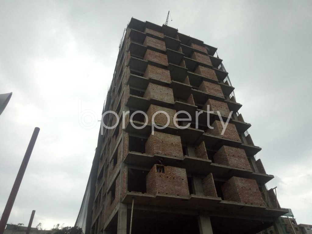 Front view - 3 Bed Apartment for Sale in Badda, Dhaka - 1919555