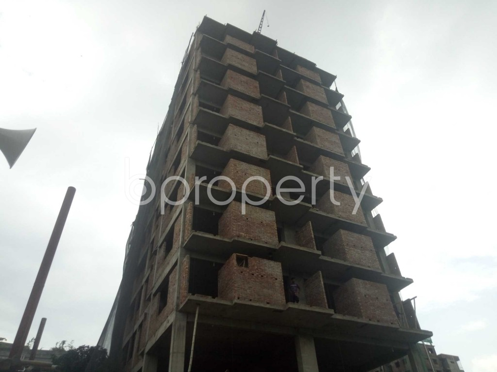 Outside view - 3 Bed Apartment for Sale in Badda, Dhaka - 1919520