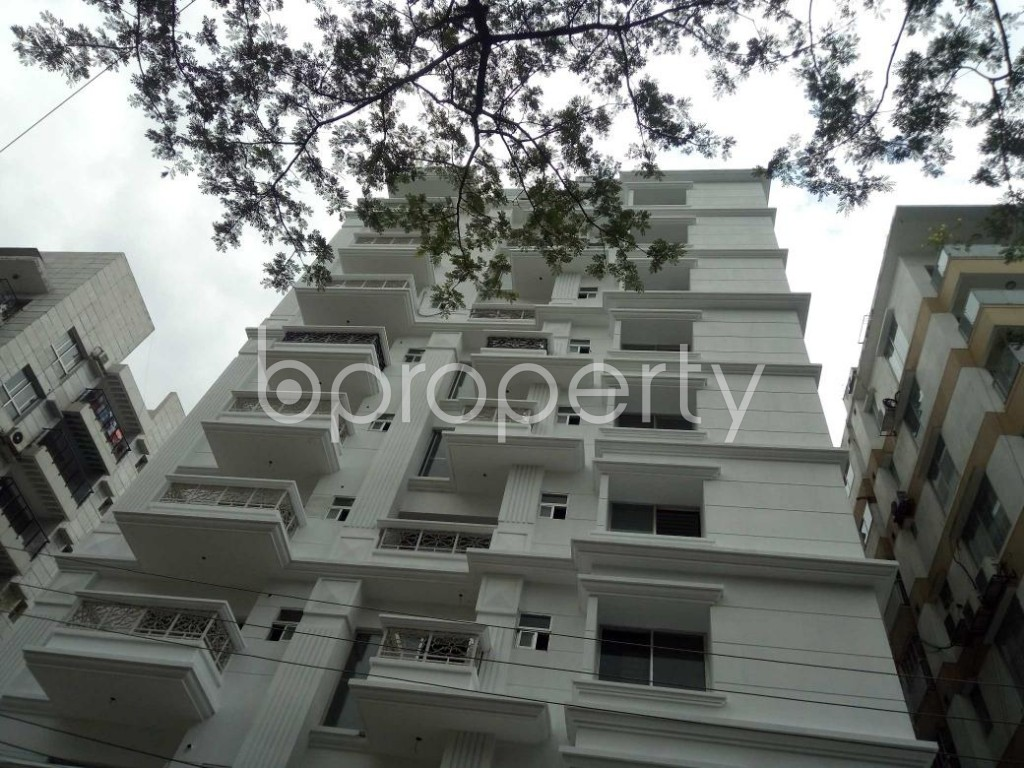 Front view - 3 Bed Apartment for Sale in Bashundhara R-A, Dhaka - 1919732