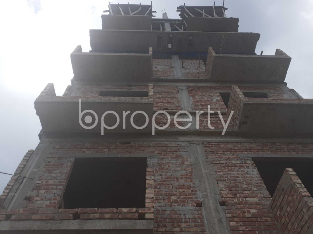 Front view - 4 Bed Apartment for Sale in Keraniganj, Dhaka - 1919995