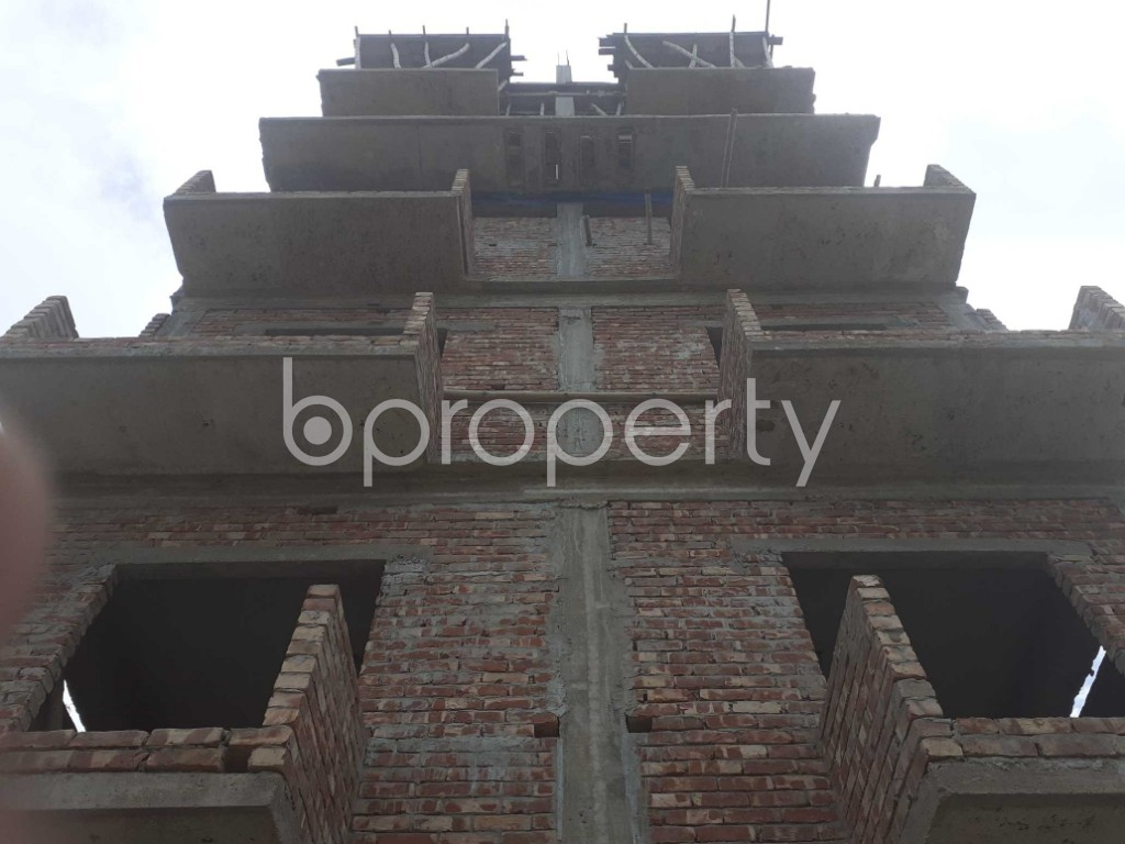 Front view - 4 Bed Apartment for Sale in Keraniganj, Dhaka - 1919997