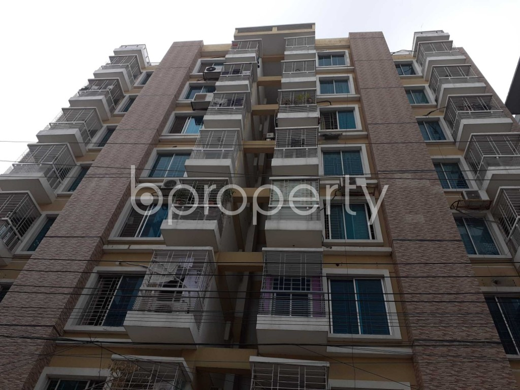 Front view - 3 Bed Apartment for Sale in Bashundhara R-A, Dhaka - 1920009