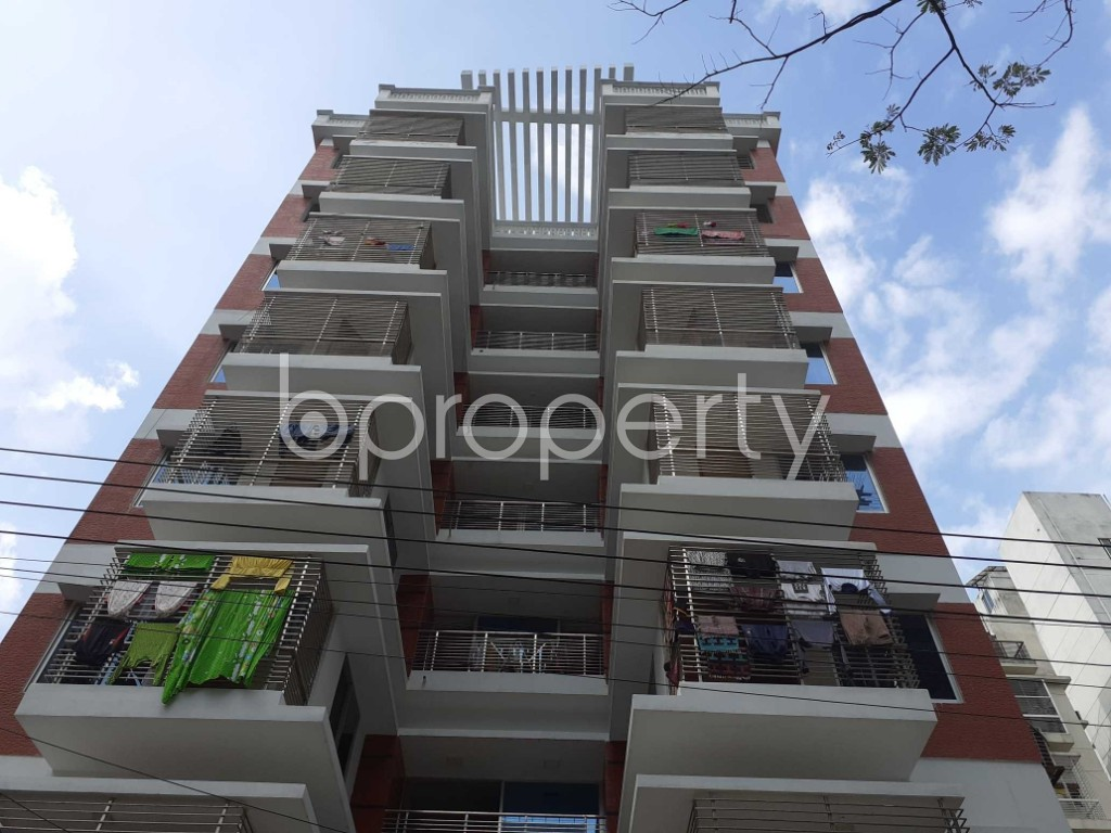 Front view - 4 Bed Apartment for Sale in Bashundhara R-A, Dhaka - 1920012
