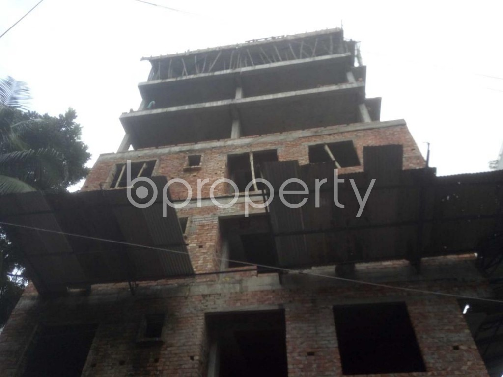 Front view - 3 Bed Apartment for Sale in Mirpur, Dhaka - 1920040
