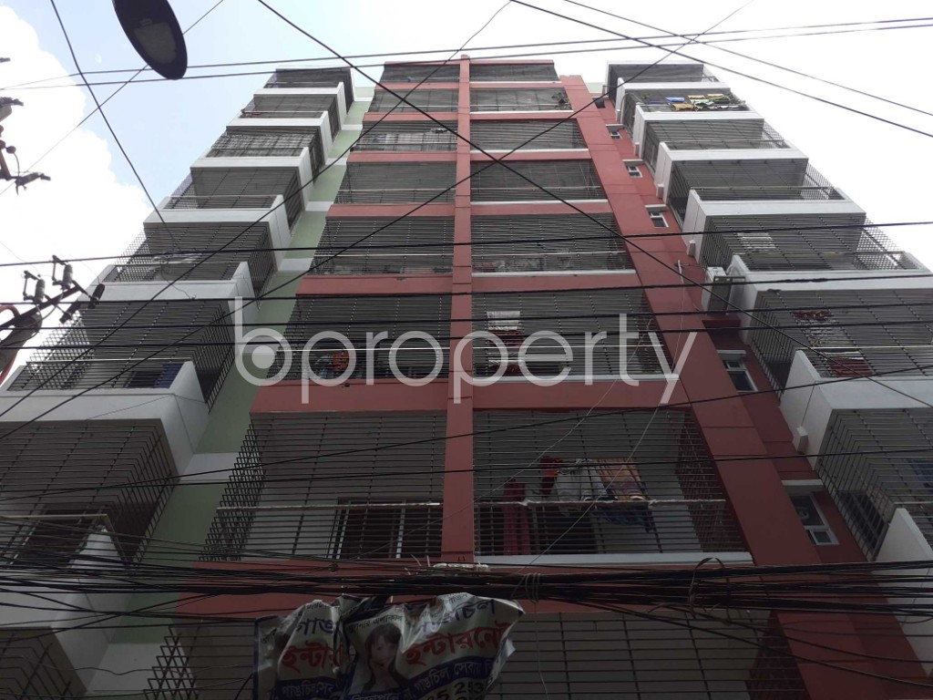Front view - 3 Bed Apartment for Sale in Dhanmondi, Dhaka - 1920121