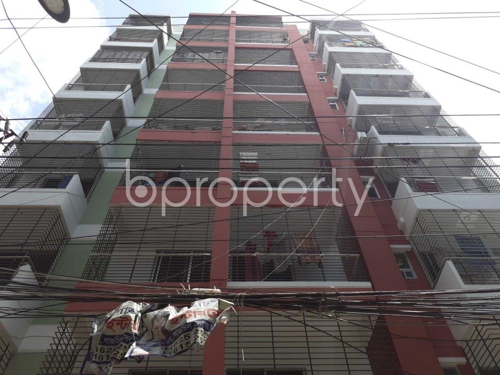 Front view - 3 Bed Apartment for Sale in Dhanmondi, Dhaka - 1920123