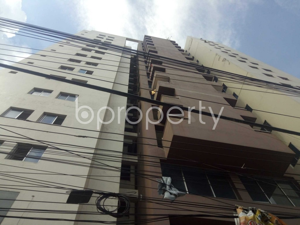 Outside view - 3 Bed Apartment for Sale in Maghbazar, Dhaka - 1920321