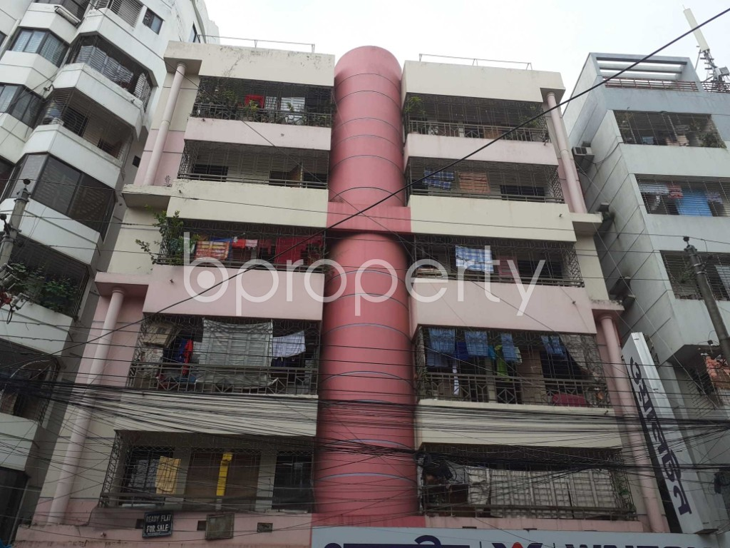 Front view - 5 Bed Apartment for Sale in Mirpur, Dhaka - 1920471