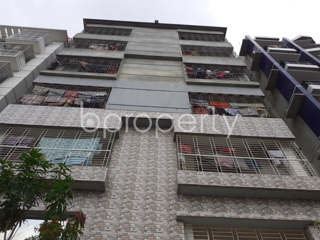 Front view - 2 Bed Apartment to Rent in Bashundhara R-A, Dhaka - 1920494
