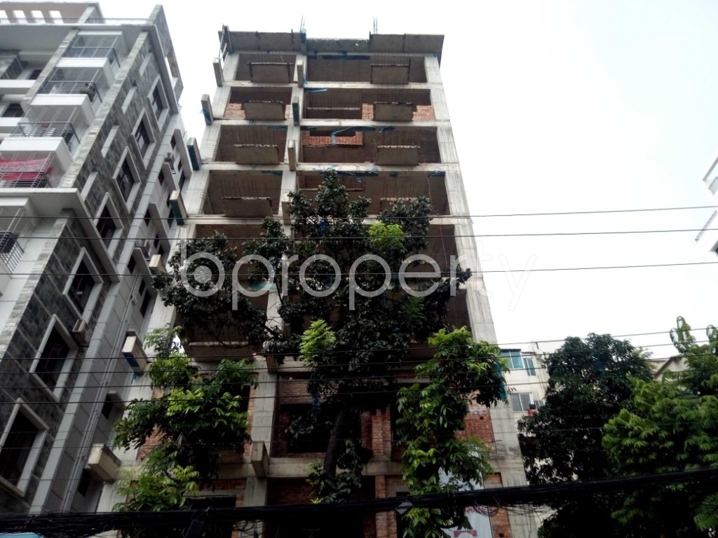 Front view - 3 Bed Apartment for Sale in Uttara, Dhaka - 1920496