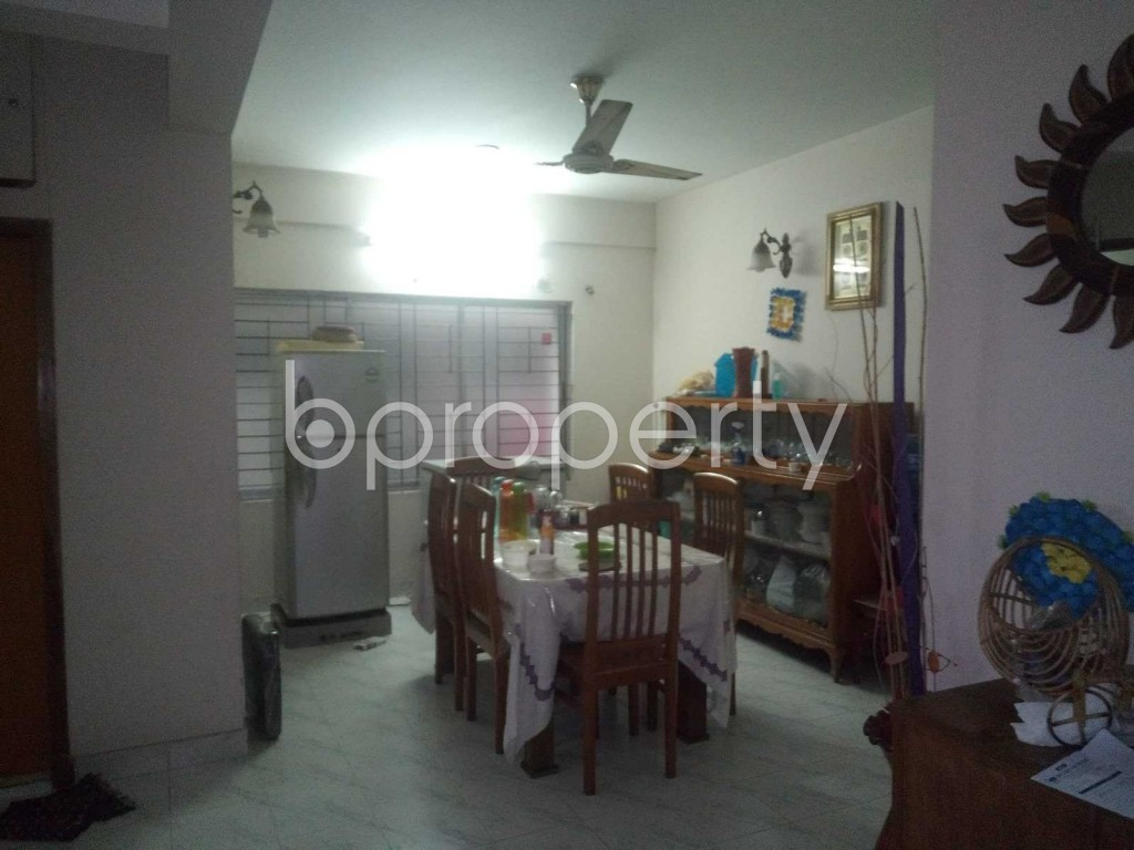 Dine/Dining - 3 Bed Apartment for Sale in Sutrapur, Dhaka - 1920647