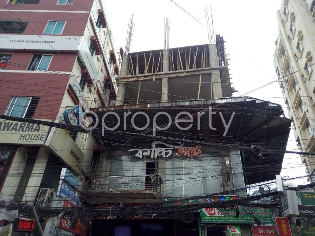 Front view - Shop to Rent in Bashundhara R-A, Dhaka - 1920680