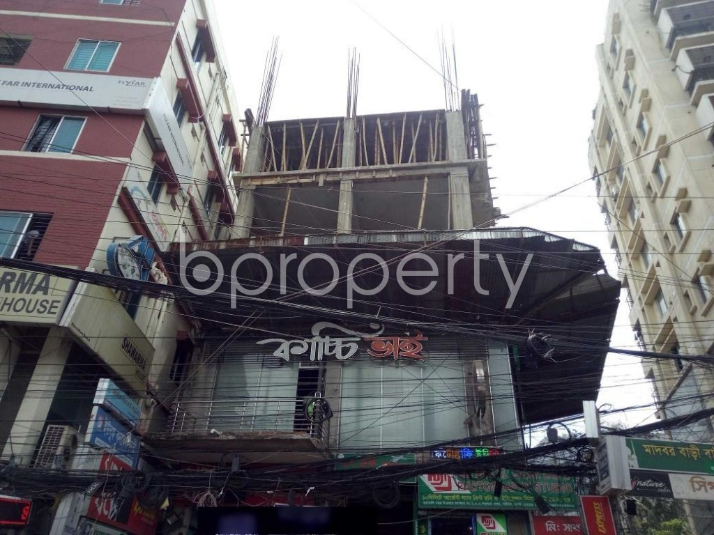 Front view - Shop to Rent in Bashundhara R-A, Dhaka - 1920681