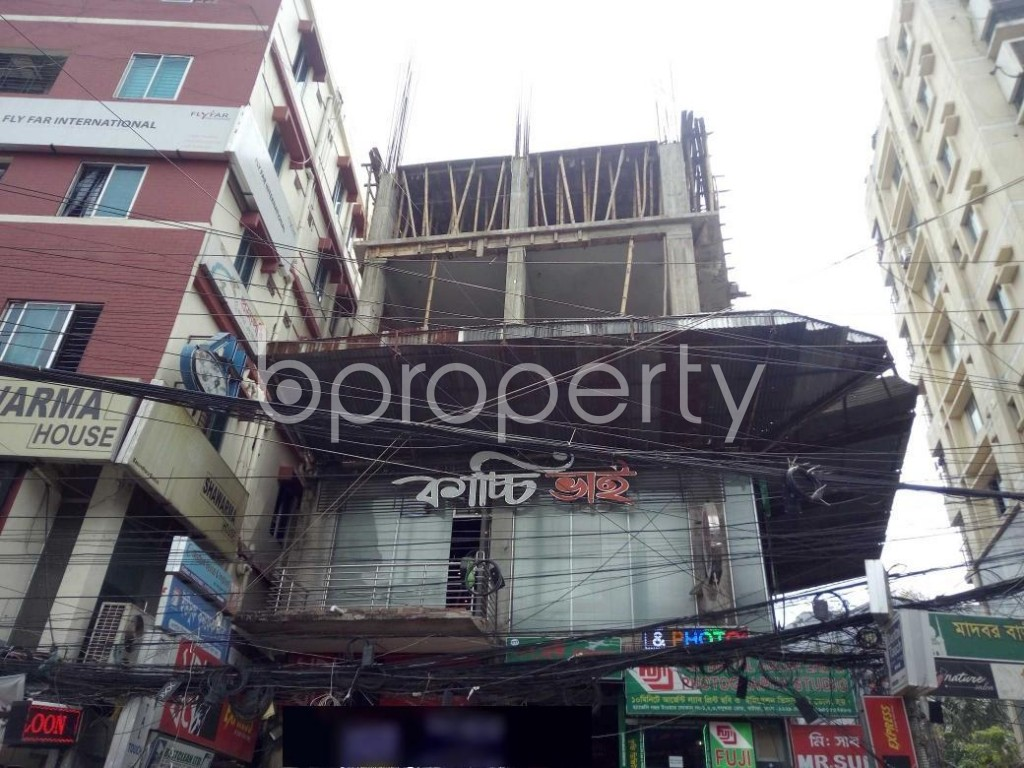 Front view - Shop to Rent in Bashundhara R-A, Dhaka - 1920682