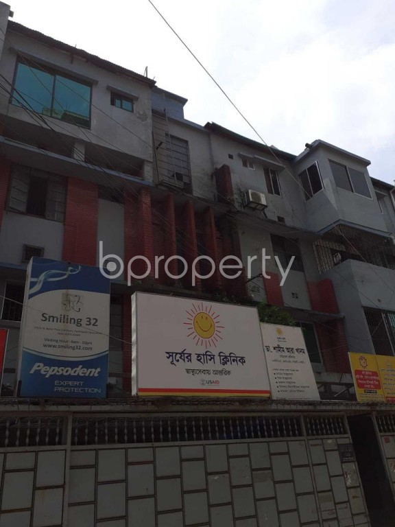 Outside view - Office to Rent in Kalabagan, Dhaka - 1920695
