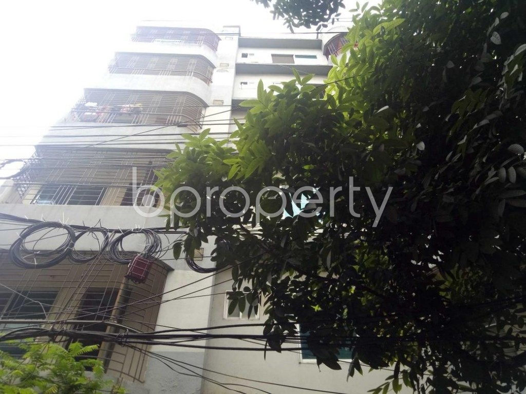 Front view - 3 Bed Apartment for Sale in Uttara, Dhaka - 1920736