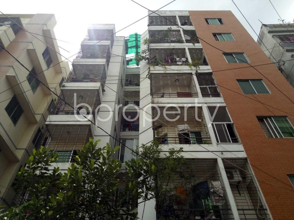 Front view - 3 Bed Apartment for Sale in Uttara, Dhaka - 1920739