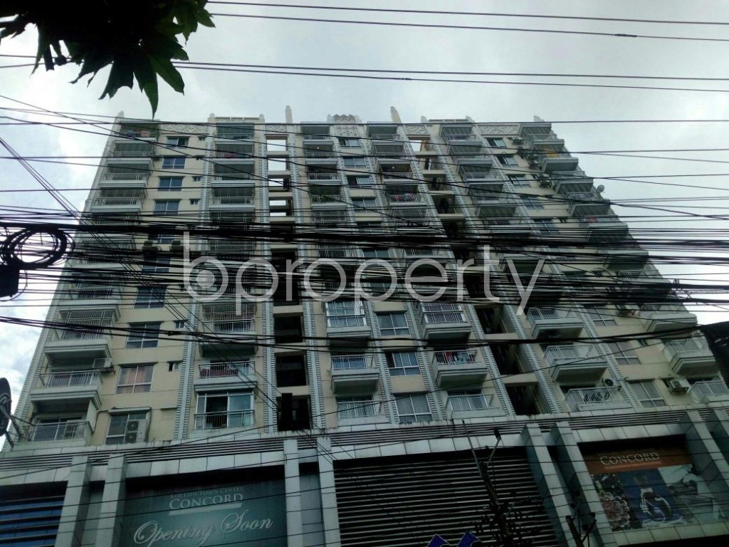 Front view - Shop for Sale in Khulshi, Chattogram - 1920788