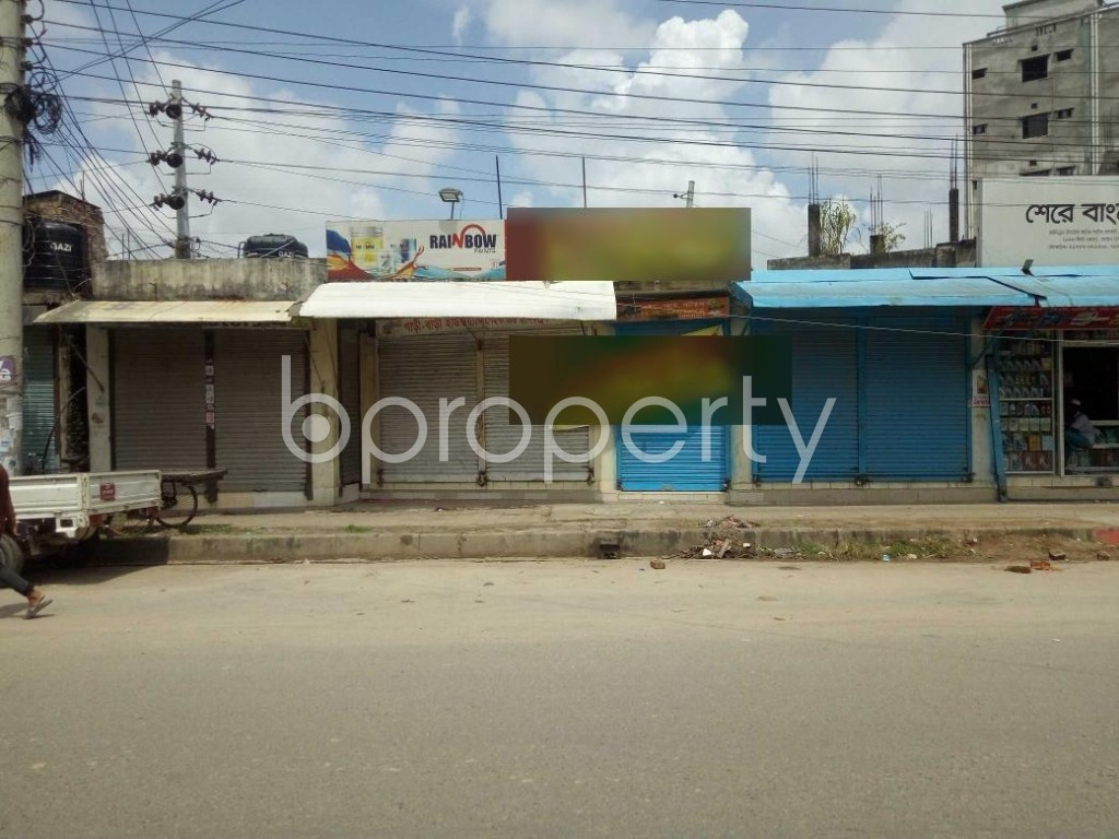 Front view - Shop to Rent in Badda, Dhaka - 1920890