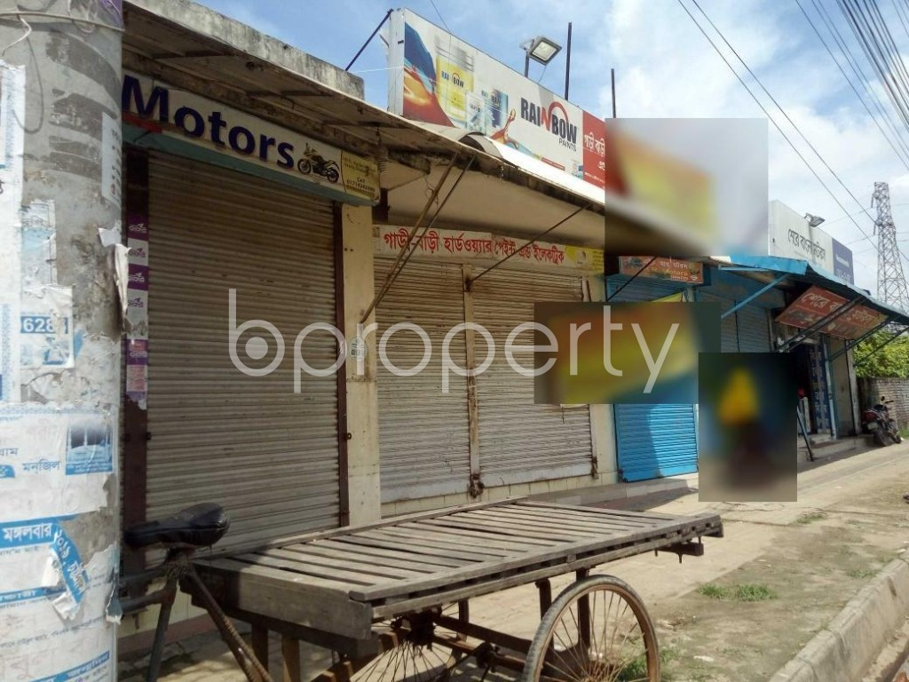 Front view - Office to Rent in Badda, Dhaka - 1920894