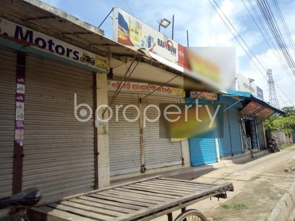 Front view - Shop to Rent in Badda, Dhaka - 1920895