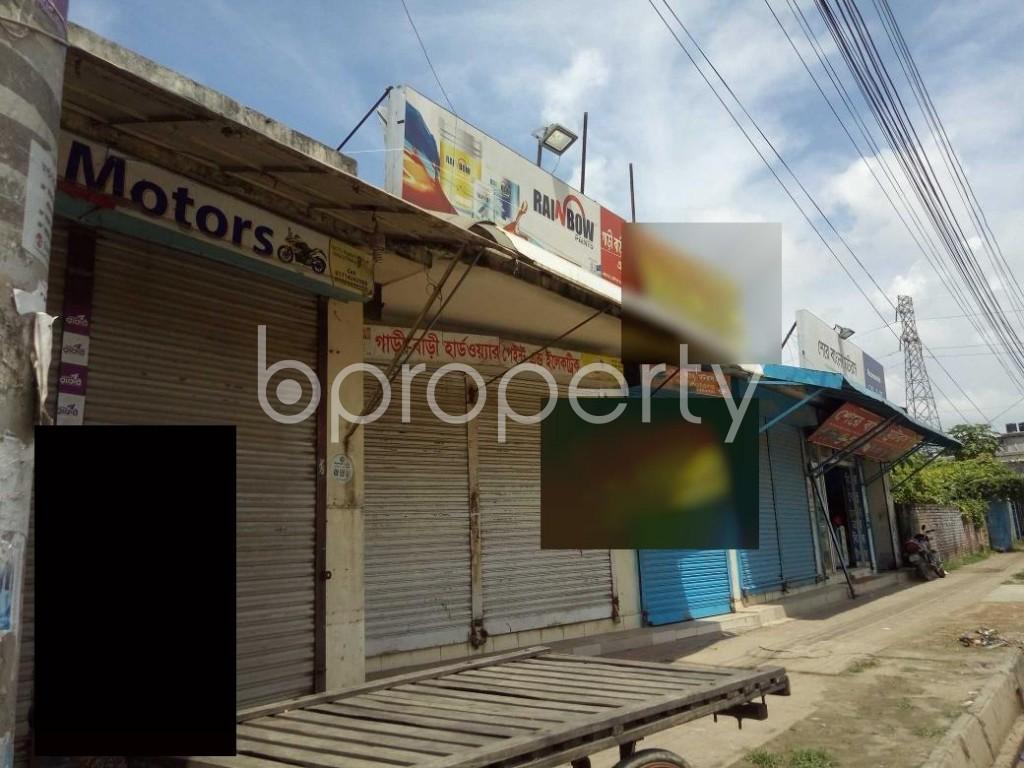 Front view - Shop to Rent in Badda, Dhaka - 1920897