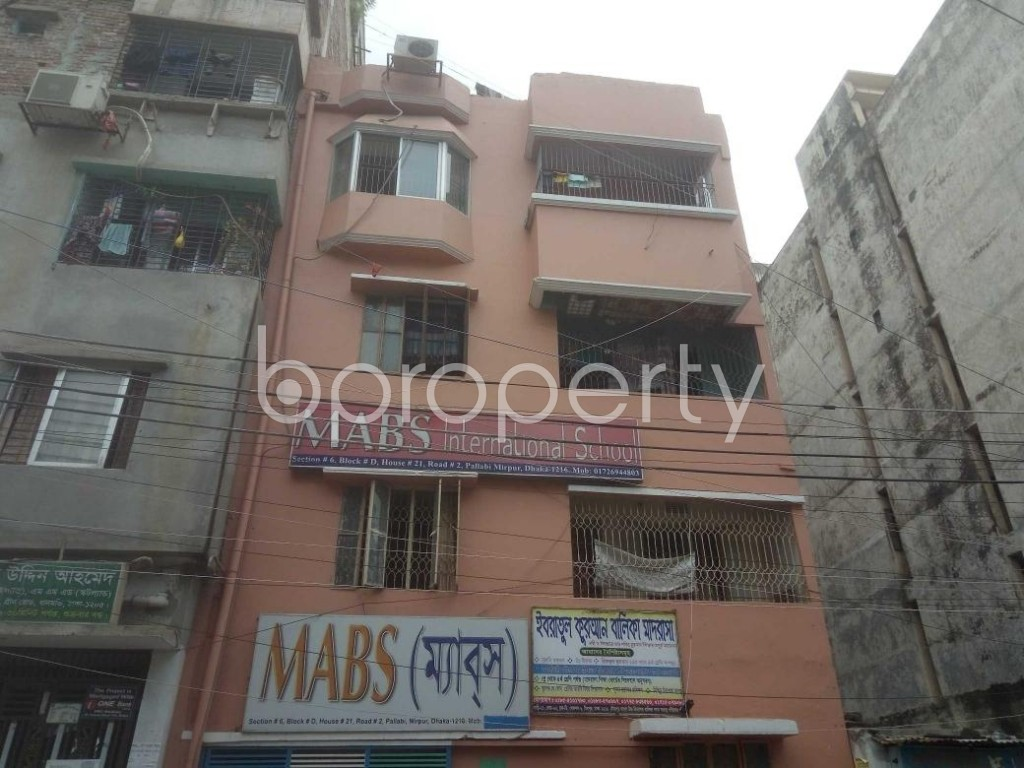 Front view - 2 Bed Apartment to Rent in Mirpur, Dhaka - 1920918