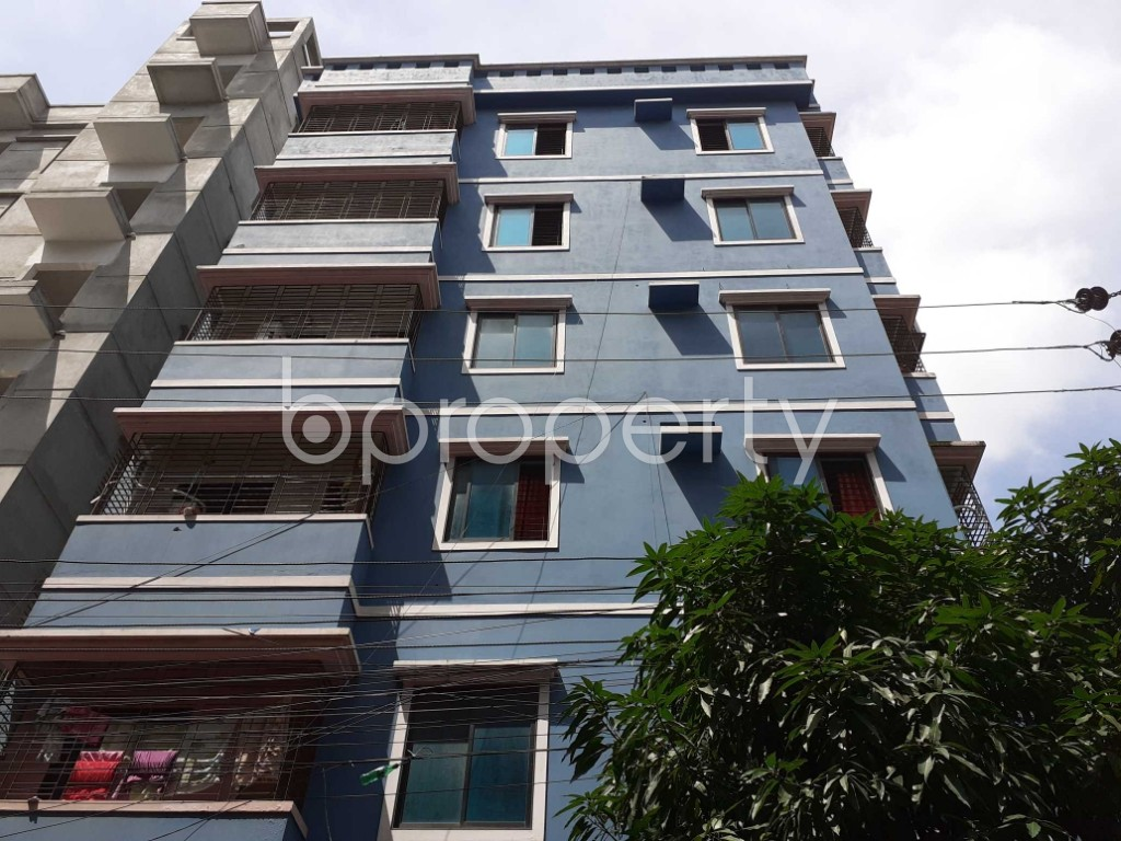 Front view - 1 Bed Apartment to Rent in Bashundhara R-A, Dhaka - 1920963