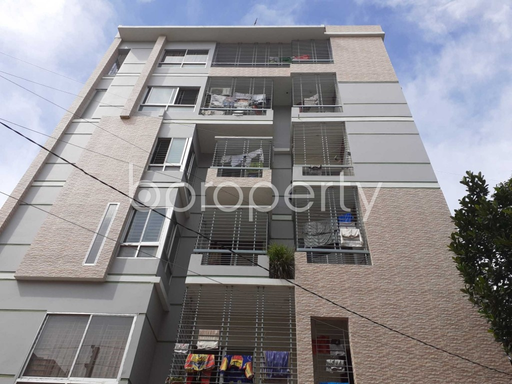 Front view - 3 Bed Apartment for Sale in Mirpur, Dhaka - 1921046