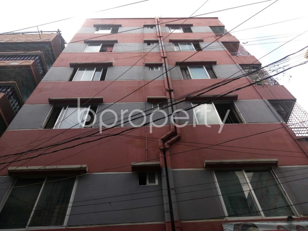 Front view - 3 Bed Apartment for Sale in Mirpur, Dhaka - 1921076